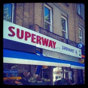 SuperWay en Londres