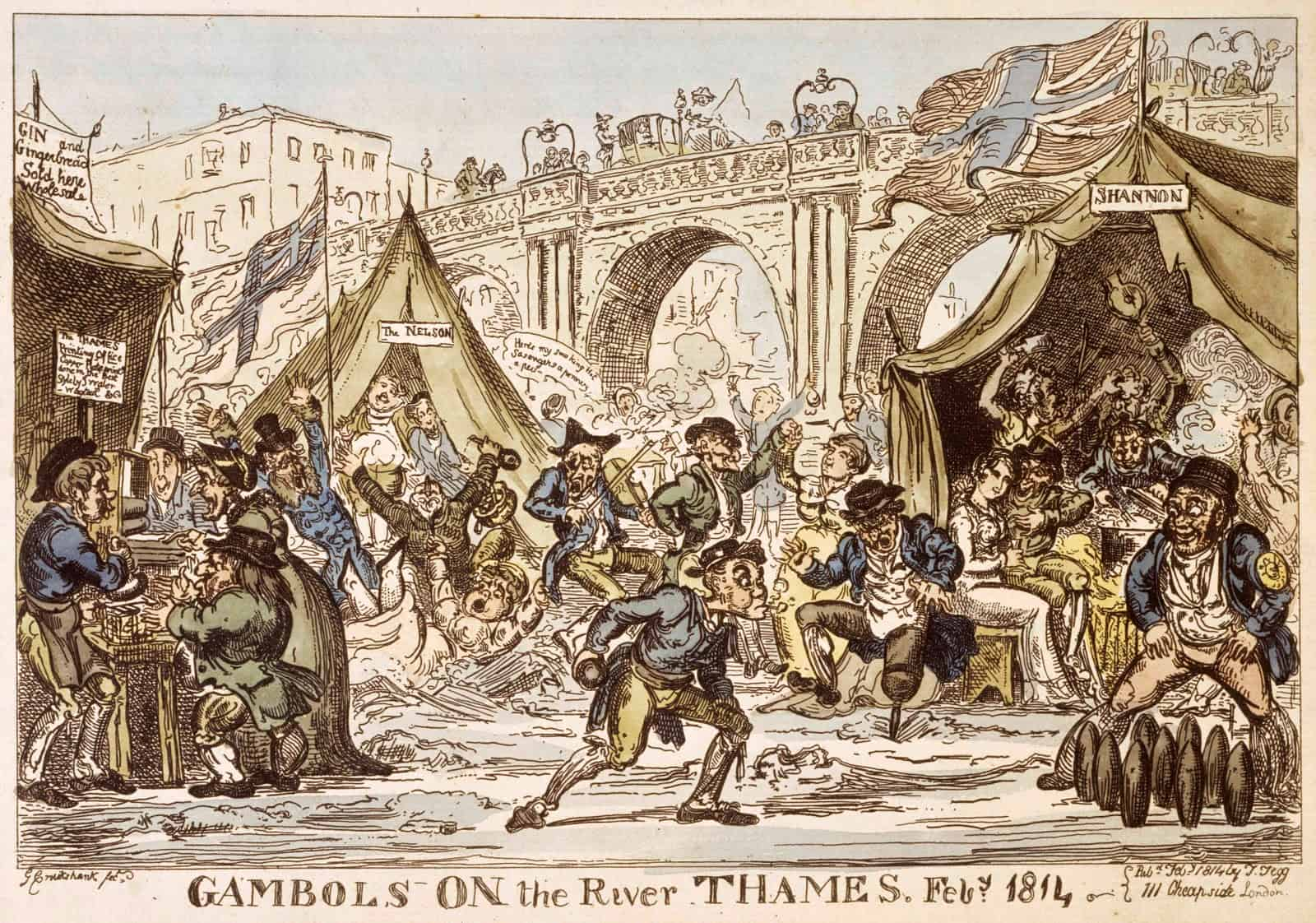 Gambols-on-the-River-Thames-1814-©-Museum-of-London