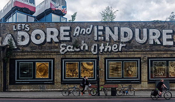 """Shoreditch Street Art"" by Berit Watkin"