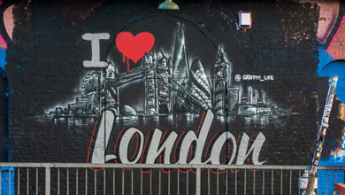 I love London by Graffiti Life