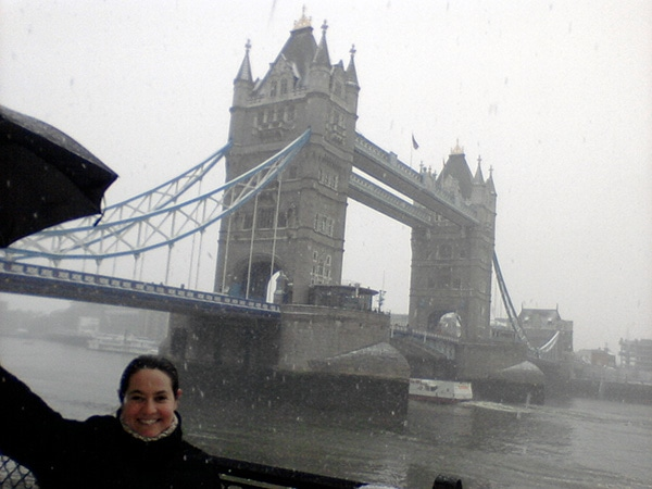 En el Puente Tower Bridge